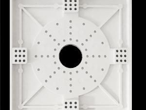 Площадка для люстры - установка в натяжной потолок